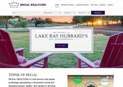 Web Design – Regal Realtors