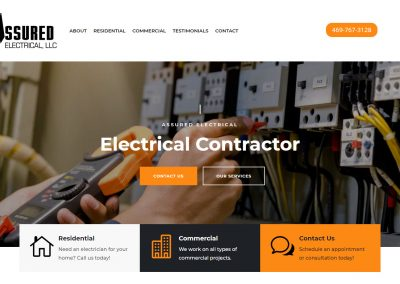 Web Design Assured Electrical