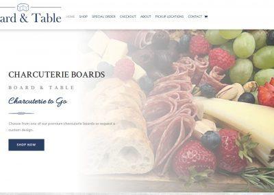 Web Design Board & Table