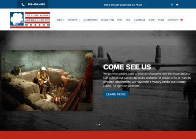 Web Design The Cotton Museum