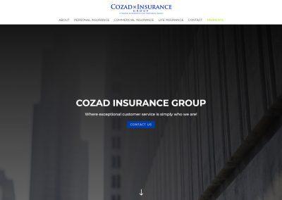 Web Design Cozad Insurance