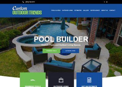Web Design Custom Outdoor Trends