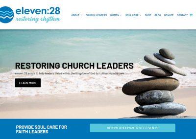 Web Design Eleven28 Ministries