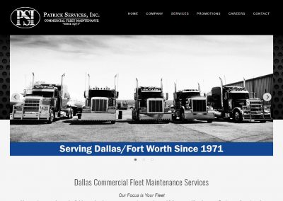 Web Design Patrick Services