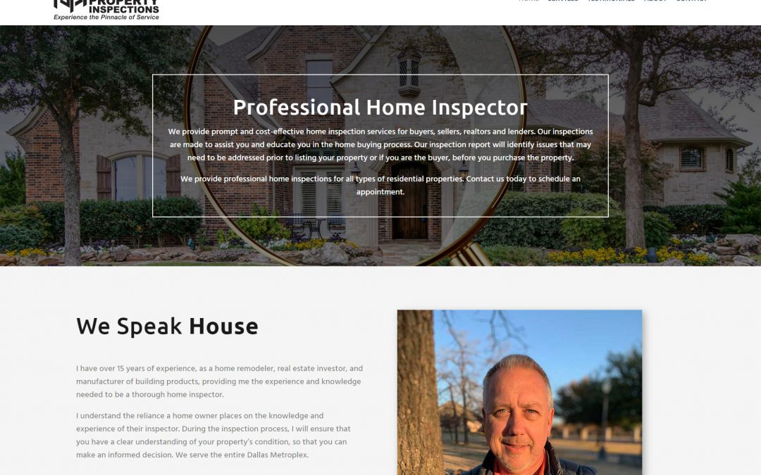 Web Design Pinnacle Inspections