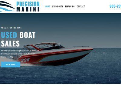 Web Design Precision Marine