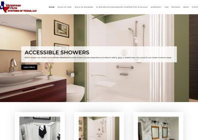 Web Design Safeguard Bath Systems