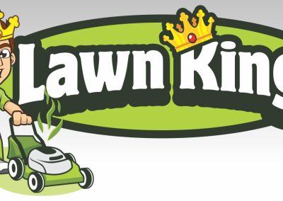 Logo Design Lawn King