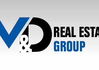 Logo Design M&D Real Estate