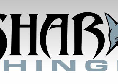 Logo Design Shark Hinge