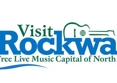 Logo Design Visit Rockwall