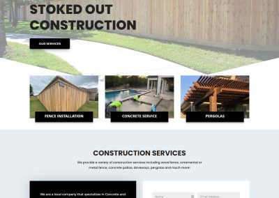 Web Design Stoked Out Construction